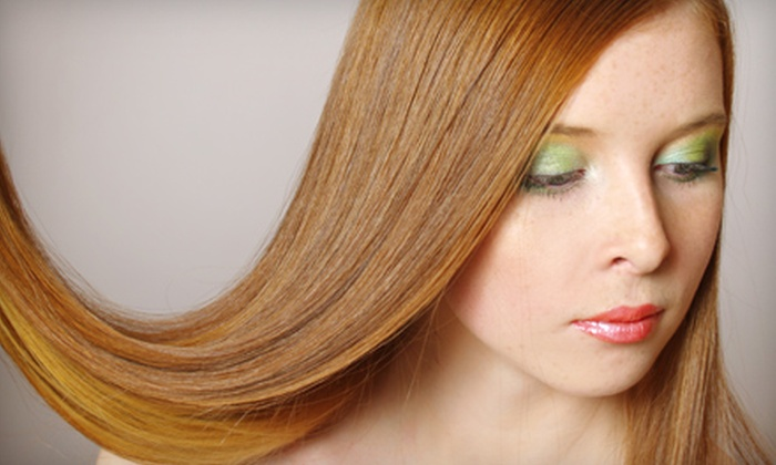 Salon Par - Lee's Summit: Women's Haircut Package with Color or a Brazilian Blowout at Salon Par in Lee's Summit (Up to 72% Off)