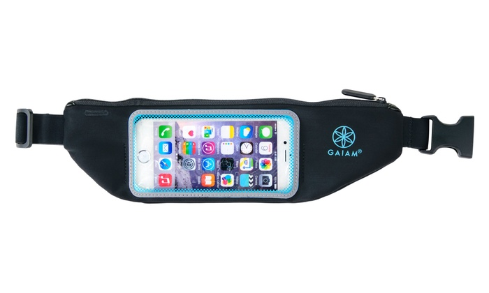 Gaiam Fitness Tech Belt for iPhones