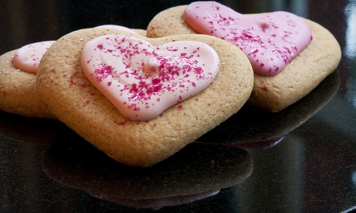 The Cake Factory - Historic Old Northeast: $18 for Valentine's Day Bouquet of One-Dozen Cookies at The Cake Factory in St. Petersburg ($36 Value)