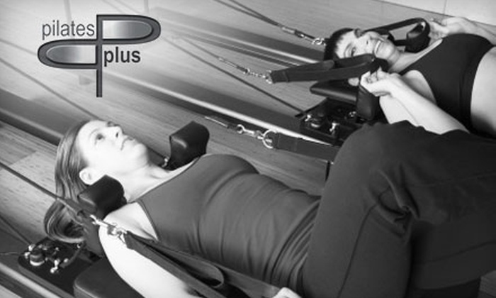 Pilates Plus - Pittsford: $30 Five-Class Card at Pilates Plus ($75 Value)