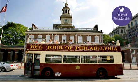 Hop-On, Hop-Off Bus or Trolley Tour from Philadelphia Trolley Works (Up to 46% Off). Six Options Available.