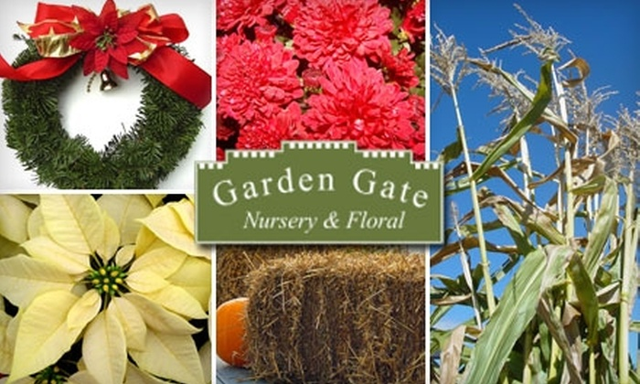 Garden Gate Nursery & Floral - Delafield: $15 for $30 Worth of Christmas Trees and Winter Greens at Garden Gate Nursery in Hartland