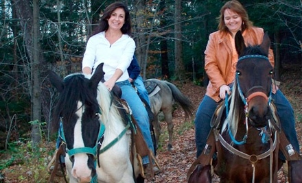 Wolcott Farms: Horseback-Riding Tour for Two - Wolcott Farms in Warsaw