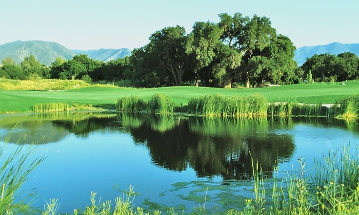 Robinson Ranch Golf Club - Crystal Springs Ranch: 18-Hole Round of Golf for Two or Four with Range Practice at Robinson Ranch Golf Club (Up to 39% Off)