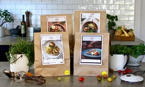 The Cook's Grocer: From $39 for First-Week of Subscription Cook-at-Home Meals for Two or a Family from The Cook's Grocer + Free Delivery