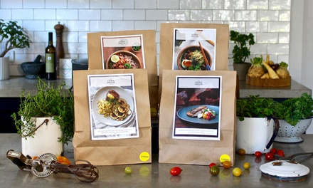 From $39 for First-Week of Subscription Cook-at-Home Meals for Two or a Family from The Cook's Grocer + Free Delivery