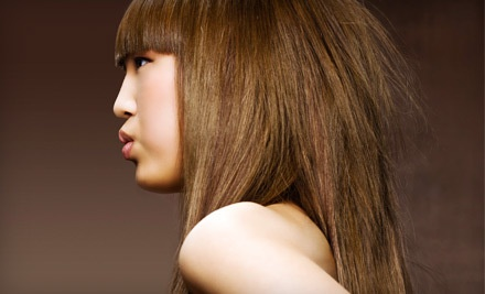 Paul Mitchell Awapuhi Conditioning Treatment, Head Massage, Haircut, and Style (a $55 value) - Lady Godiva Hair Studio in Colorado Springs
