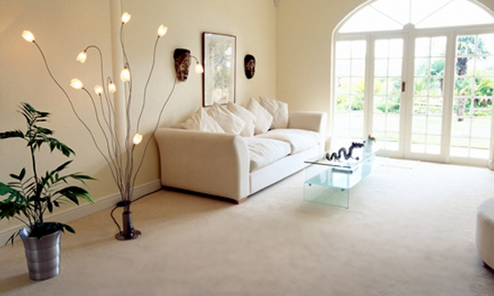 Elite Carpet Care - Knightdale: $89 for Carpet Cleaning for Five Rooms and Hallway or Upholstery Cleaning from Elite Carpet Care ($199 Value)