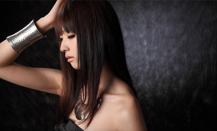 Women's Haircut and Conditioning Treatment (a $37 value) - Tangles Salon in Greenwood