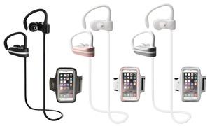 Jarv Mach 1 Sport Bluetooth Headphones and Armband
