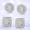 Diamond Accent Stud Earrings