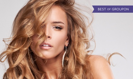 Cut and Blow-Dry with Half Head Highlights or Full Head Colour at Va Va Voom (Up to 60% Off)