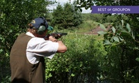Clay Pigeon Shooting Lesson for One or Two at Ian and Gareth Butler Shooting School (Up to 62% Off)