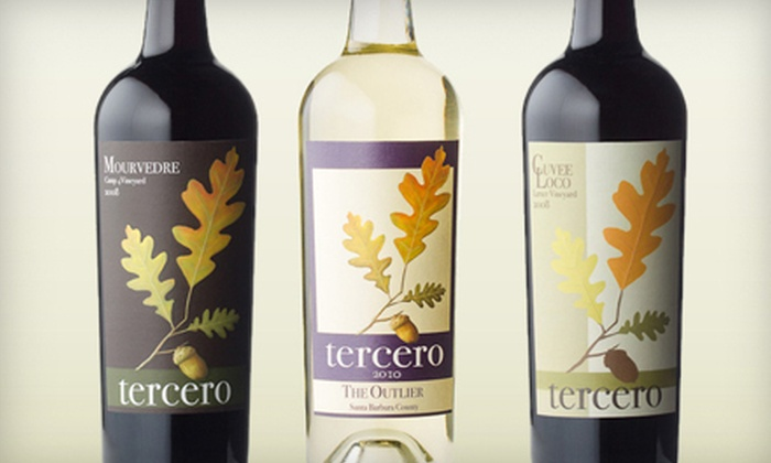 tercero wines - Los Olivos: Wine Tasting and Bottle of Wine for 2 or Private Tasting for 6 or 14 at tercero wines (Up to 59% Off)