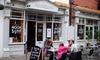 The Hook and Line - York: Two-Course Fish and Chip Meal with Tea or Coffee for Two or Four at The Hook and Line (Up to 53% Off)