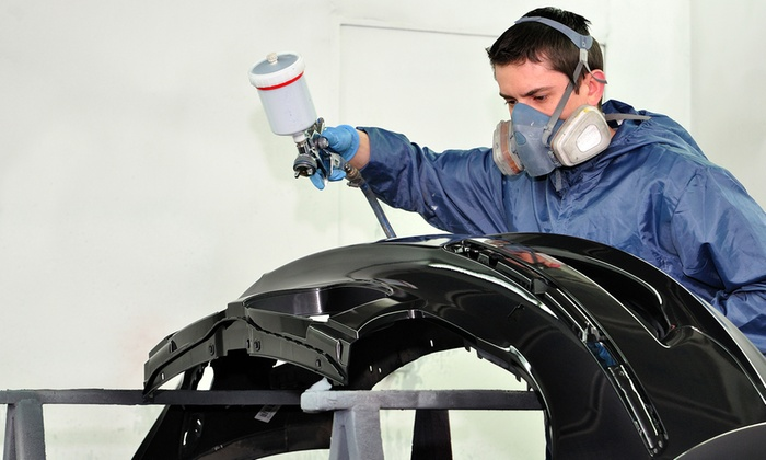 Friendly Autobody & Repair Center - Friendly Autobody & Repair Center: C$150 for Auto Body Paint Service for One Body Panel at Friendly Autobody & Repair Center (C$300 Value)