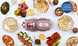 Curry Empire: $25 for $50 or $49 for $100 to Spend on Indian Food and Wine at Curry Empire