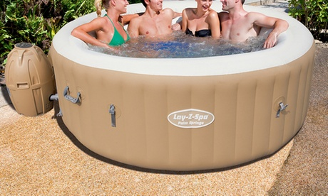 Piscina idromassaggio Lay Z Spa Palm Springs di Bestway per 4/6 adulti