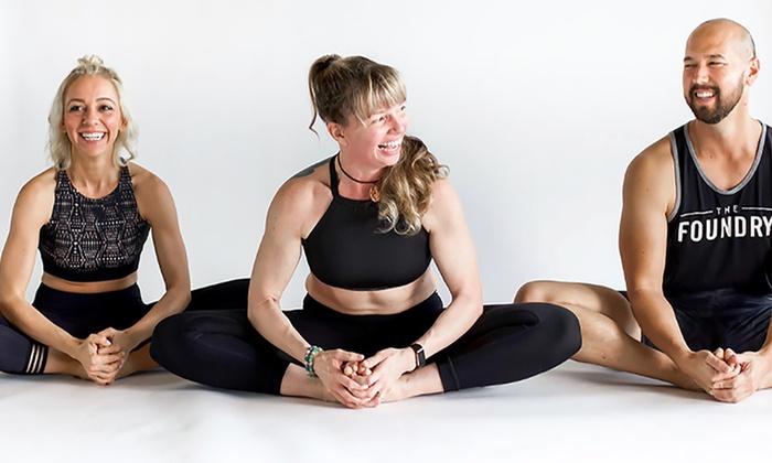 Bikram Hot Yoga Classes Bikram Yoga At The Foundry Groupon