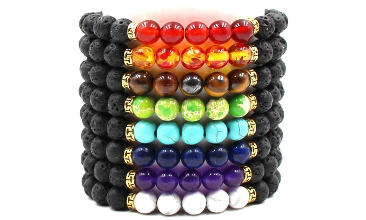 Chakra Coloured Bracelet