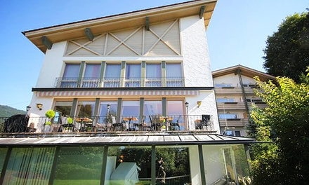 Bodenmais/Bayern: 3-4 T. für 2 inkl. Frühstück, Champagner & Pralinen und Wellness-Paket  im 3*S Hotel Villa Dolce Vita