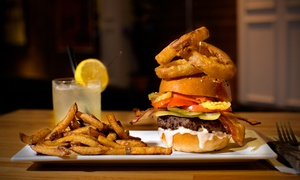 Burger Bar: Voucher Valid on the Whole Menu for Two or Four at Burger Bar Crescent (Up to 53% Off)