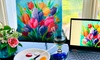10% Off Virtual Painting Event from Corks and Canvas Events