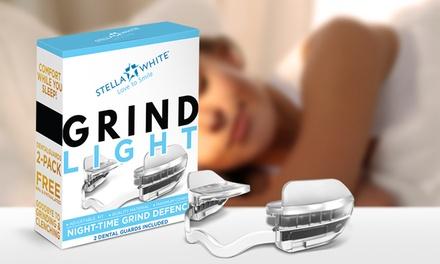1, 2 o 3 packs de protectores dentales nocturnos para bruxismo Grind Light de Stella White