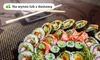 Sushi: zestaw Gold lub Platinum