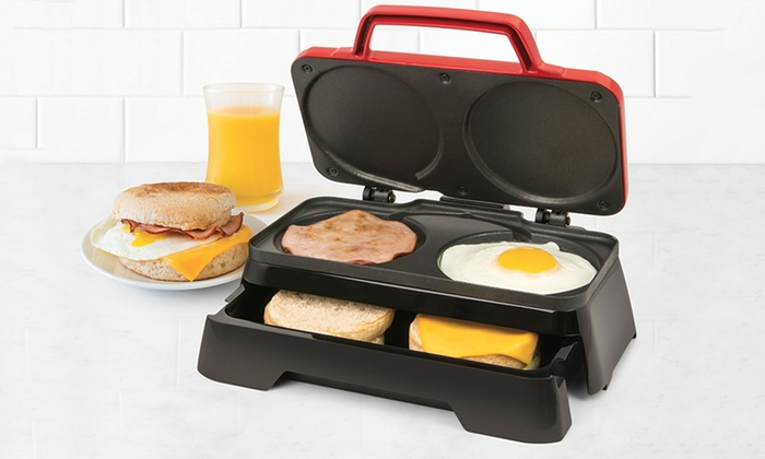 Nostalgia Bs20rd Breakfast Sandwich Maker Groupon