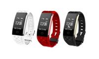 Tracker Smart Gear Fit avec écran OLED et bracelet EazyFit, coloris au choix