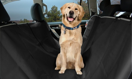 ASPCA Car-Seat Cover for Dogs and Free Travel Bowl
