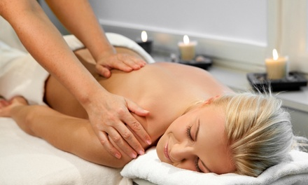One or Three 75-Minute Massages or Back and Foot Massage Package at UrbanSerenity Massage (Up to 58% Off)