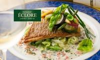 【 11%OFF 】新鮮な魚が集まる「築地」に佇む、本格フランス料理の名店 ≪ 2種類から選べる「シェフおまかせコース」+グラスシャンパ...