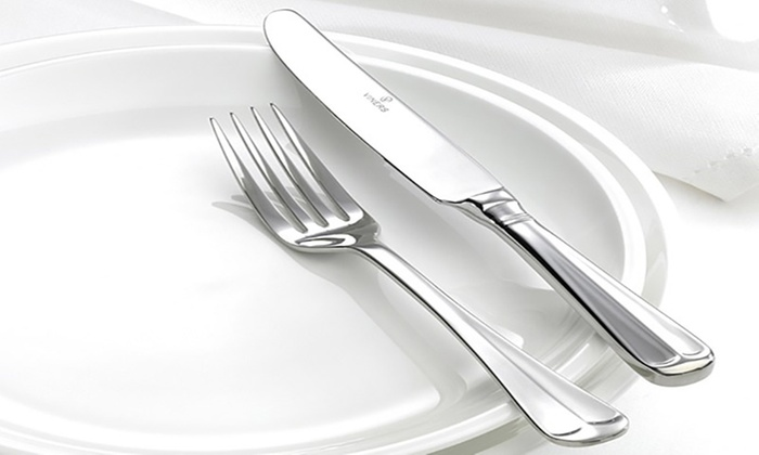 viners rattail cutlery set groupon goods. Black Bedroom Furniture Sets. Home Design Ideas