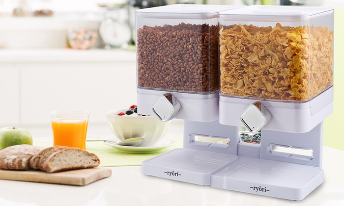 Up to 50 off square cereal dispenser groupon square cereal dispenser square cereal dispenser ccuart Images