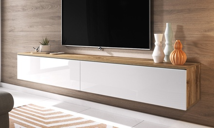 Mueble TV Origami con luces LED