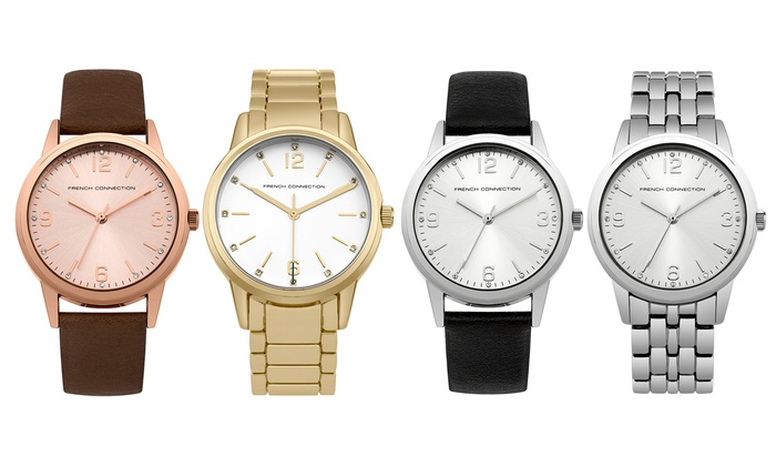 Groupon Goods Global GmbH: French Connection Women's Watch from €25.99 With Free Delivery (Up to 48% Off)