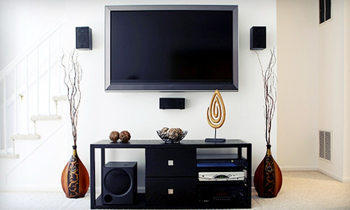 Risen Entertainment - Doral: Installation of a Television from Risen Entertainment (Up to 50% Off). Three Options Available.