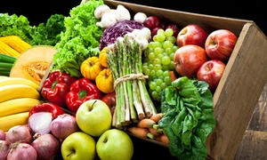 oFarm Organic Grocers: $49 for a Large Family Box of Organic Produce at oFarm Organic Grocers (Up to $99 Value)