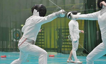 image for Six Beginner Fencing Lessons for One or Two at Fence Fit (Up to 59% Off)