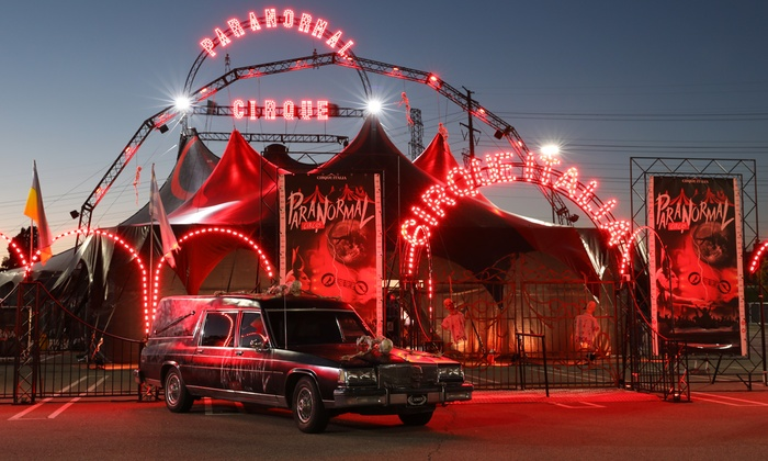 Image result for Paranormal Circus frisco tx