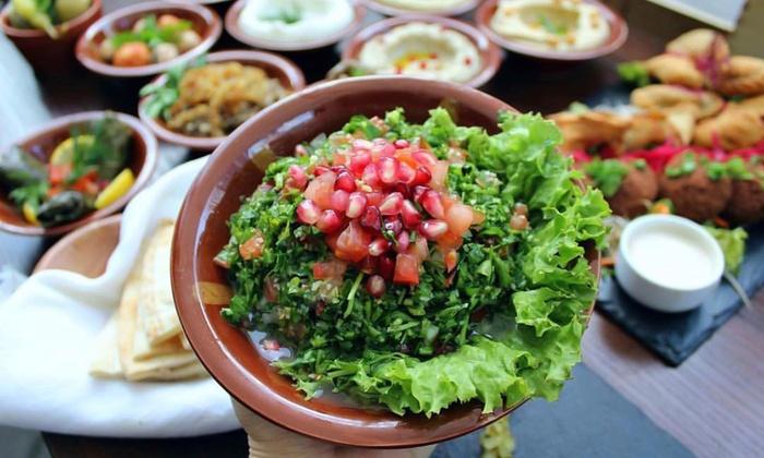 śródmieście Kuchnia Libańska Le Cedre Lounge Groupon