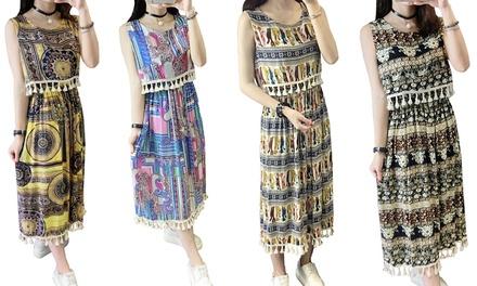 1, 2 o 3 vestidos Bohemian Bellatrix disponibles en varios colores y tallas desde 22,99 €