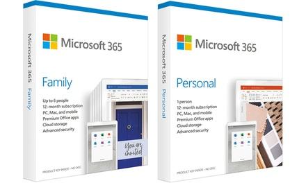 Microsoft 365 Personal o Family