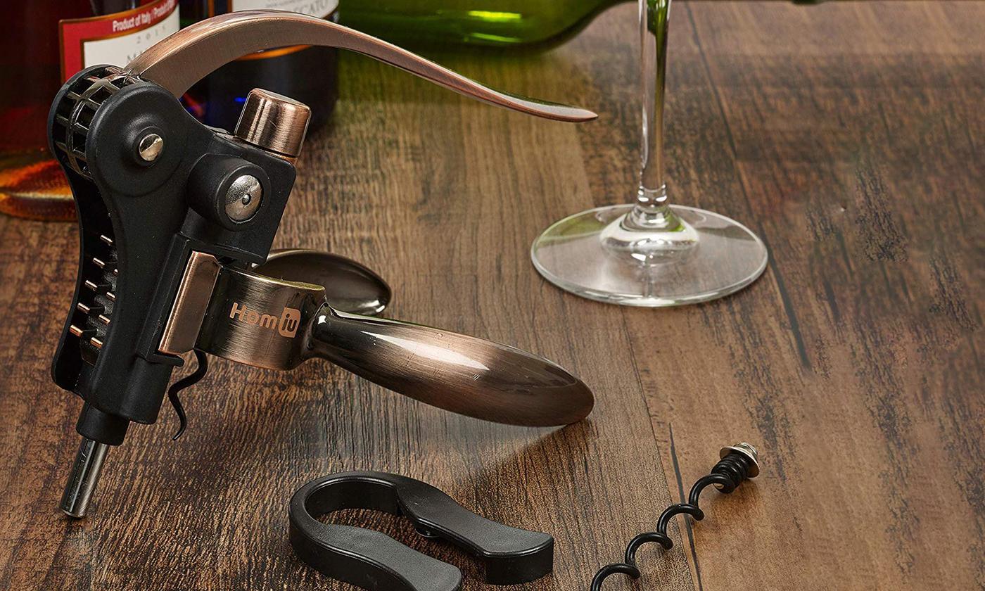 Homiu Corkscrew Free-Standing Wine Bottle Opener