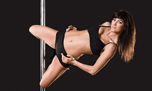 Vertical Fitness Studio: 1, 5, or 10 Pole-Dancing Classes or a Pole-Dancing Party for 10 at Vertical Fitness Studio (Up to 52% Off)