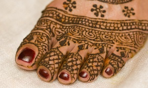 Tattooguru/pirate Loves Gypsy: 30-Minute Henna Art Session from Pirate loves Gypsy (68% Off)