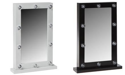 Espejos de maquillaje con luz LED