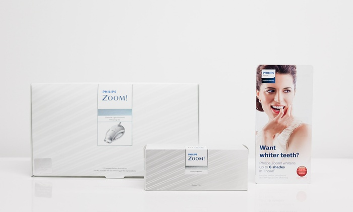 Covent Garden Aesthetic Clinic - Multiple Locations: One-Hour Philips Zoom! Laser Teeth Whitening Inclusive of Consultation at Covent Garden Aesthetic Clinic (Up to 76% Off)